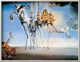 St. Antonios fristelse, ca. 1946|The Temptation of St. Anthony, c.1946 Posters av Salvador Dalí