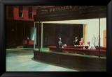 Natteravner, ca. 1942 Plakater av Edward Hopper