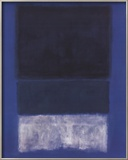 No. 14 White and Greens in Blue Posters by Mark Rothko
