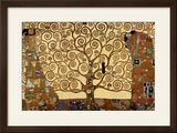 The Tree of Life, Stoclet Frieze, c.1909 Print by Gustav Klimt