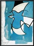L'Oiseaux Bleu et Gris Prints by Georges Braque