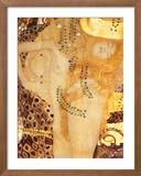 Sea Serpent, c.1907 Plakat af Gustav Klimt