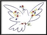 Vredesduif Schilderijen van Pablo Picasso