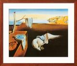 La persistance de la mémoire, vers 1931 Affiche par Salvador Dalí