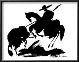 Stierkampf I Kunstdruck von Pablo Picasso