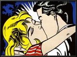 Kiss II, c.1962 Láminas por Roy Lichtenstein
