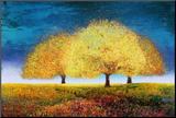Dreaming Trio Lámina montada en tabla por Melissa Graves-Brown