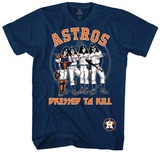 MLB: Kiss- Houston Astros Dressed To Kill T-shirts