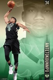 Milwaukee Bucks- G Antetokounmpo 17 アートポスター