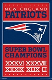 New England Patriots- Champions 17 Pôsteres
