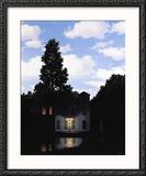 L'Empire des Lumieres Poster tekijänä Rene Magritte