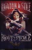 Wonder Woman- Justice Poster