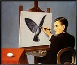 La Clairvoyance Taide tekijänä Rene Magritte