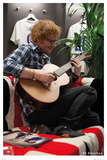 Ed Sheeran- Backstage at Wembley Kunstdruck