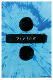 Ed Sheeran- Divide Album Logo Kunstdruck