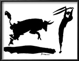 Stierkampf III Kunstdrucke von Pablo Picasso