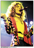Led Zeppelin Robert Plant- Live March 1975 Affiches