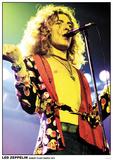 Led Zeppelin Robert Plant- Live March 1975 Kunstdruck