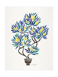 Lemon Bonsai Orange Giclee Print by Cat Coquillette