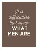 What Men Are Láminas por  GraphINC