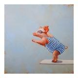 The Plunge Plakater af Lucia Heffernan