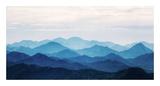 Blue Mountains Pôsters por  PhotoINC Studio