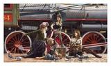 Last Train for the Coast Plakat af Paul Kelley