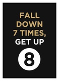 Fall Down Poster di  GraphINC