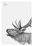 Deer Posters by  Clean Nature