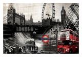 London Poster von  GraphINC