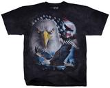 Patriotic Eagle Flight T-skjorter