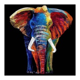 Great Elephant Posters by Clara Summer