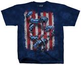 American Serpent Flag T-shirts