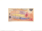 The Fish in the Harbor Collectable Print by Paul Klee