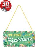 Garden Tin Sign