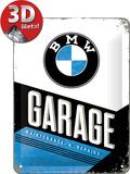 BMW - Garage Metalen bord