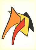 DLM No. 141 Page 7 Reproduction pour collectionneur par Alexander Calder