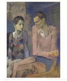 Acrobat and Young Harlequin Impressão colecionável por Pablo Picasso