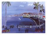 The Bay of Angels Samletrykk av Raoul Dufy