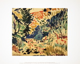 Landscape at Collioure Collectable Print by Henri Matisse
