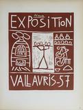 Exposition Vallauris Impressão colecionável por Pablo Picasso