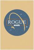 NASA Retro Rogue-1 Plakat