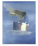 Steam Boats Samlertryk af Nicolas De Stael