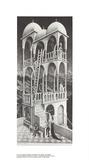Belvedere Samlertryk af M.C. Escher