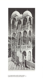 Belvedere Collectable Print by M.C. Escher