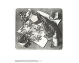 Reptiles Collectable Print by M.C. Escher