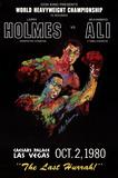 Holmes vs. Ali Samlertryk af LeRoy Neiman