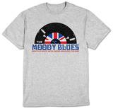 The Moody Blues- White Satin Record T-Shirt
