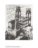 Chute d'eau Reproduction pour collectionneur par M.C. Escher