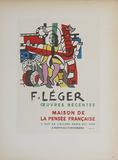 Maison de la Pensee Francaise Impressão colecionável por Fernand Leger
